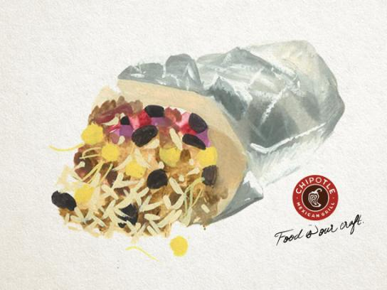 Chipotle Print Ad - Burrito King, 1