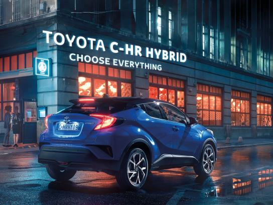 Toyota Print Ad - Choose Everything - Club