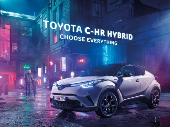 Toyota Print Ad - Choose Everything - Tokyo