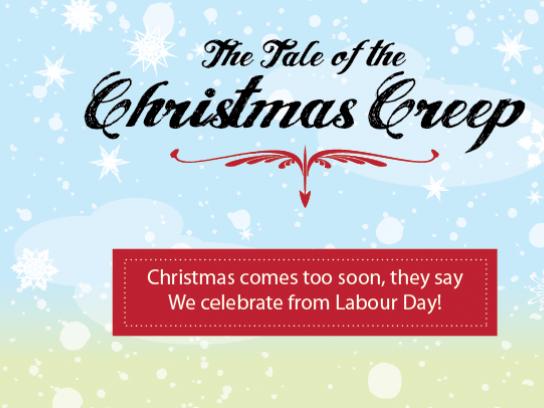 Acart Digital Ad -  Agency Christmas Card, The Tale of the Christmas Creep