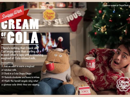 Chupa Chups Print Ad -  Cream of Cola