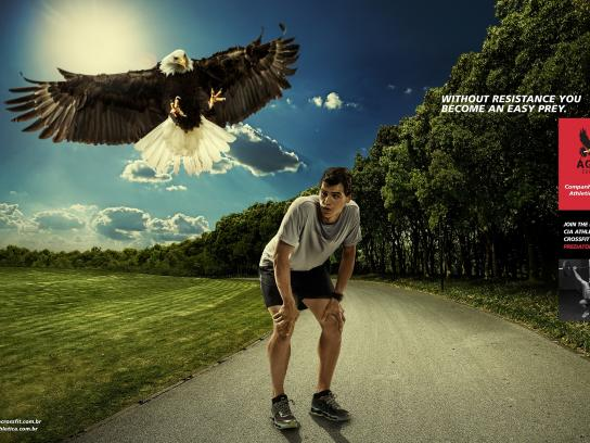 Cia Athletica Print Ad -  Eagle, 2