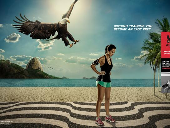 Cia Athletica Print Ad -  Eagle, 1