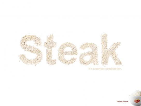 Ciagro Print Ad -  Steak