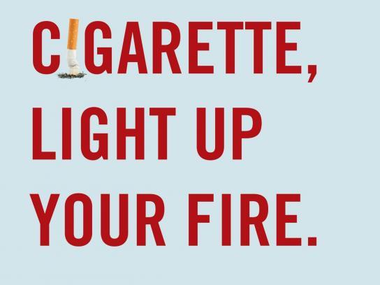 Sunny Day Motels Print Ad -  Cigarette Sex, 2