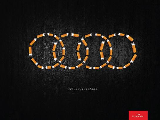 The Economist Print Ad - Up in Smoke, 3