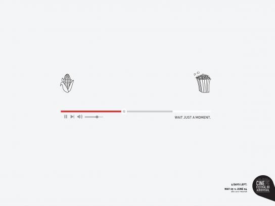 CINE PE Print Ad - Popcorn