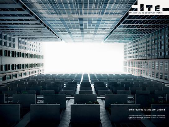 cité de l'architecture et du patrimoine Print Ad -  Cinema