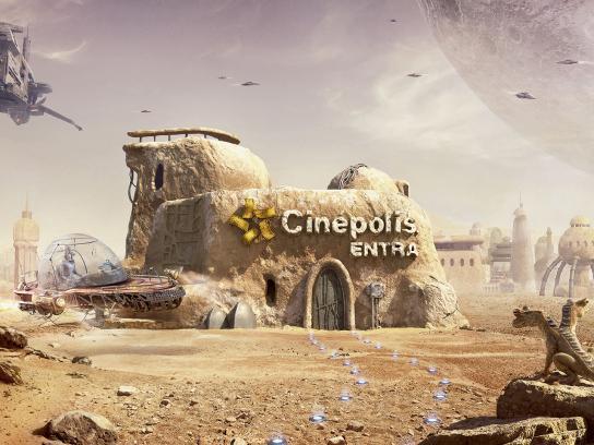 Cinepolis Print Ad - Entra - Adventure