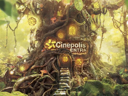 Cinepolis Print Ad - Entra - Fantasy