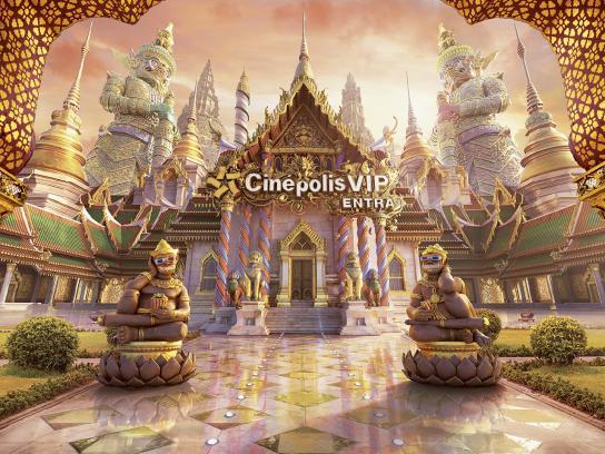 Cinepolis Print Ad - Entra - VIP