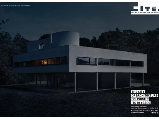 cité de l'architecture et du patrimoine Print Ad - Villa Savoy