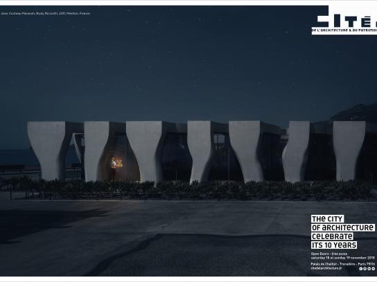 cité de l'architecture et du patrimoine Print Ad - Musée Cocteau