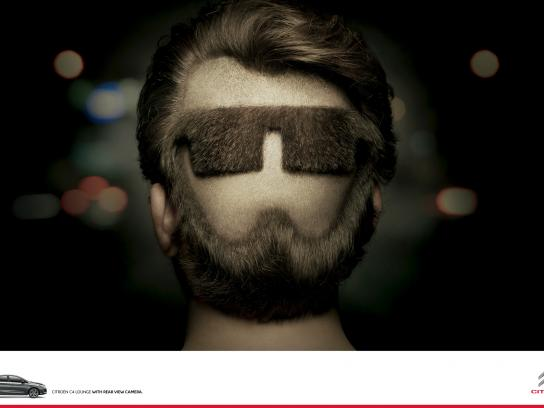 Citroën Print Ad -  Beard
