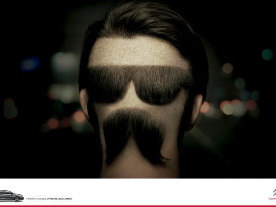 Citroën Print Ad -  Mustache