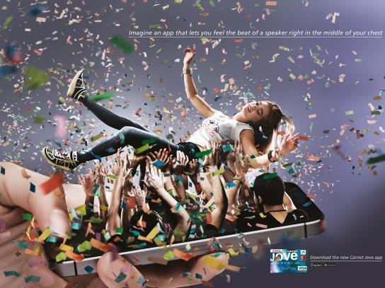 Carnet Jove Print Ad -  Concert