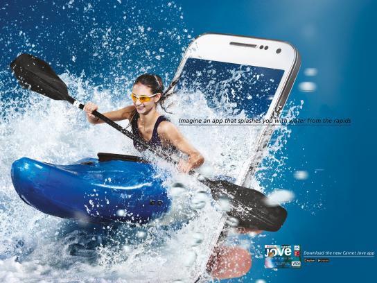 Carnet Jove Print Ad -  Kayak
