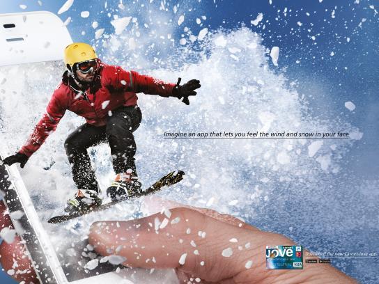 Carnet Jove Print Ad -  Snowboard