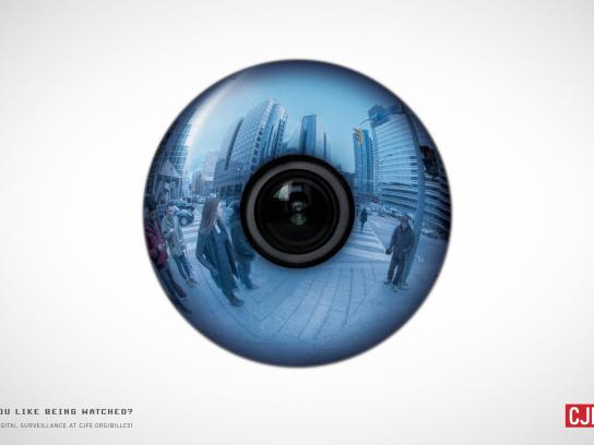 CJFE Print Ad -  Eye, 2