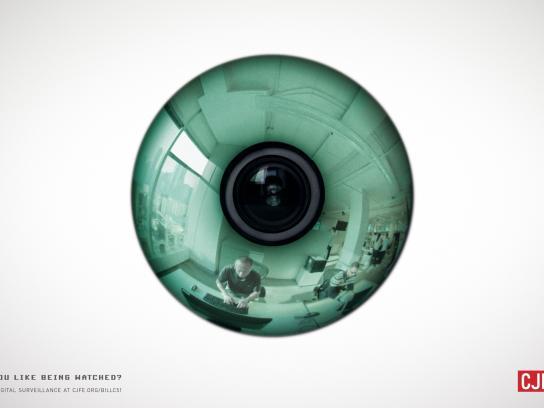 CJFE Print Ad -  Eye, 3
