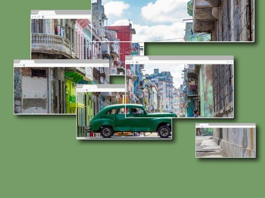 Kayak Print Ad - Cuba