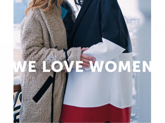 whoisit? Print Ad -  We love women, 1