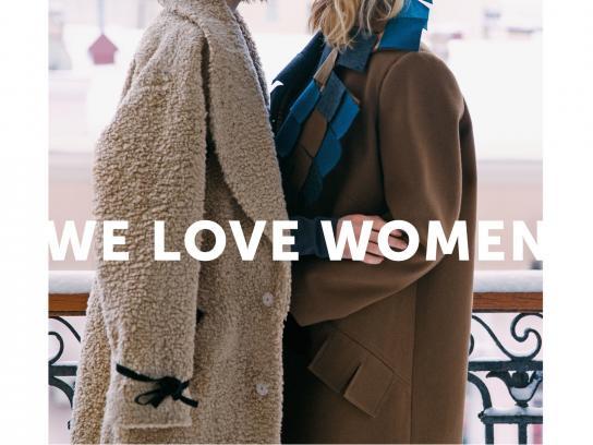 whoisit? Print Ad -  We love women, 2