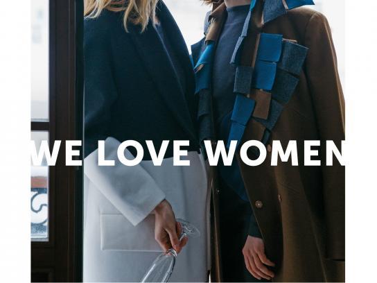 whoisit? Print Ad -  We love women, 3