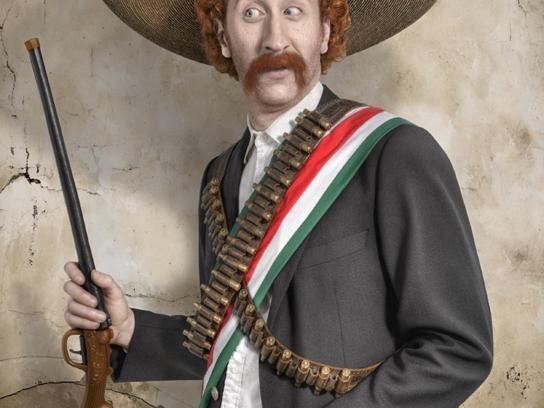 Cine las Américas Print Ad -  Mexican-American Film Series, 3