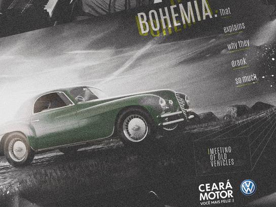 Ceará Motor Print Ad - Classic Cars - Boehmia