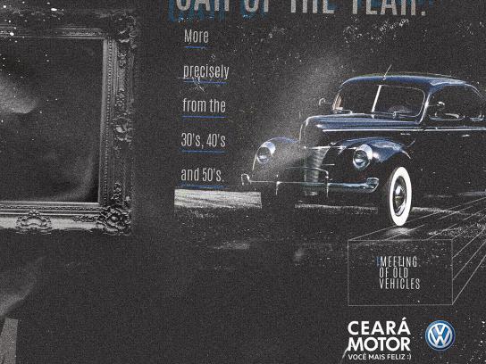 Ceará Motor Print Ad - Classic Cars - Year