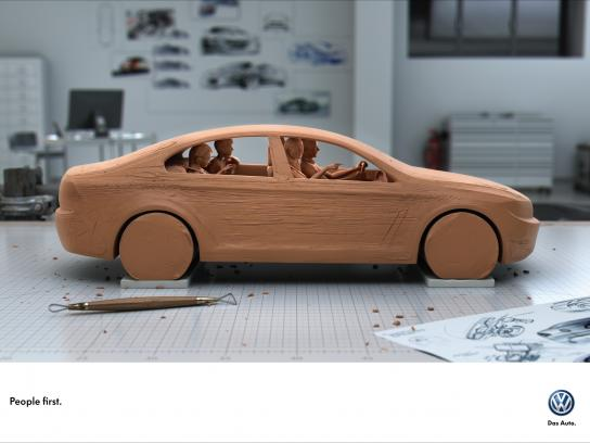 Volkswagen Print Ad -  Clay
