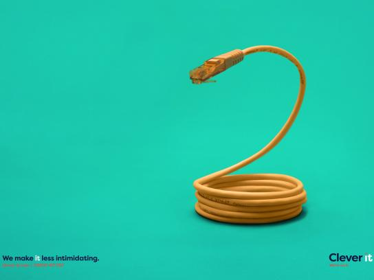 Clever it Print Ad - Fear