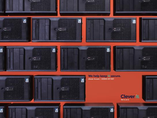 Clever it Print Ad - Security