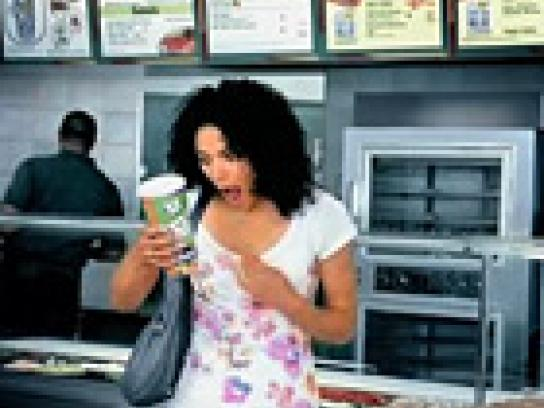 Subway Film Ad -  Scrabble