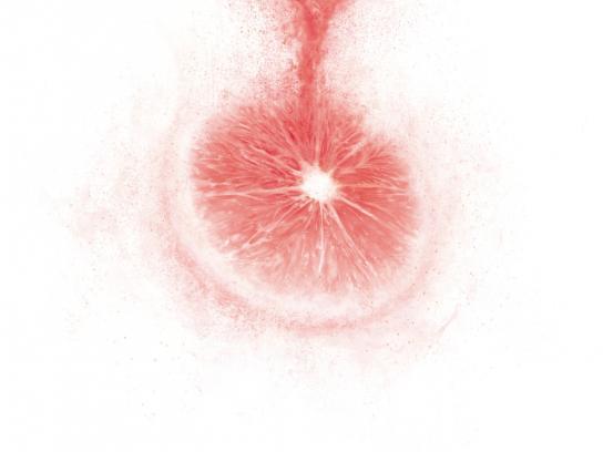 Clight Print Ad -  Clight Grapefruit
