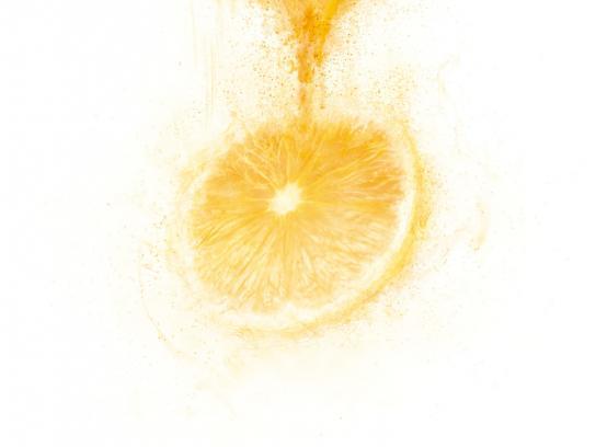 Clight Print Ad -  Clight Orange