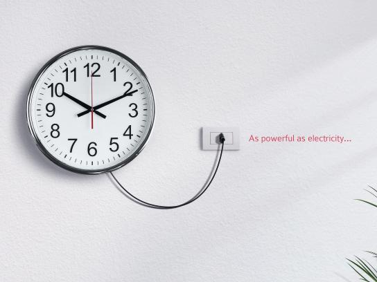 Energizer Print Ad - Clock