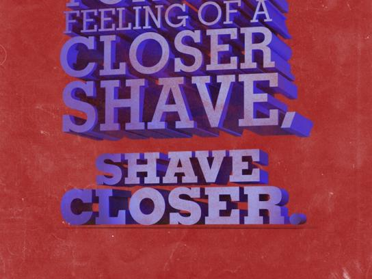 Barbasol Print Ad -  Shut up and shave, 3