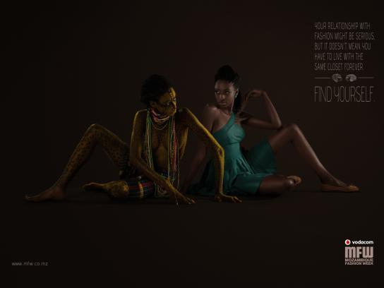 Mozambique Fashion Week Print Ad -  Closet