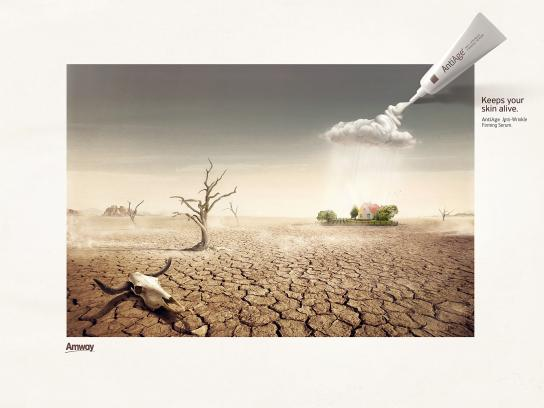 Amway Print Ad -  Cloud