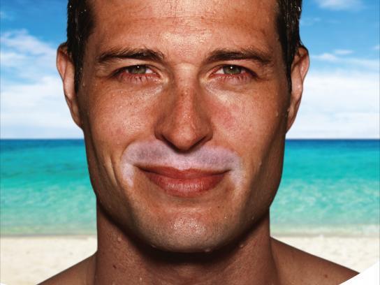 Club Med Print Ad -  Movember