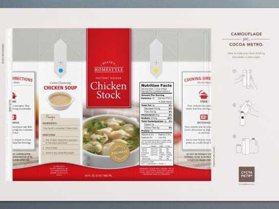 Cocoa Metro Direct Ad -  Chicken stock