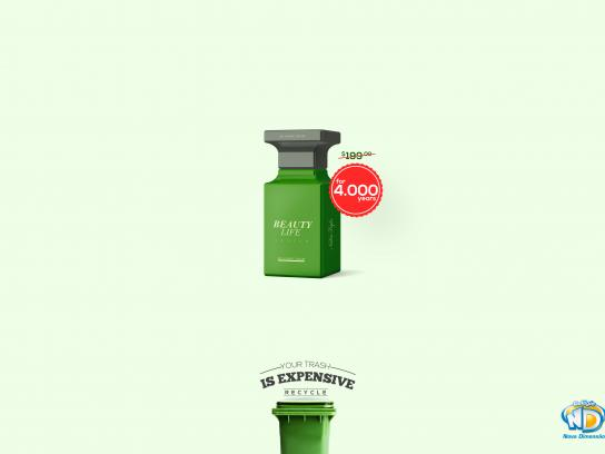Colégio Nova Dimensão Print Ad - Your trash is expensive, 4