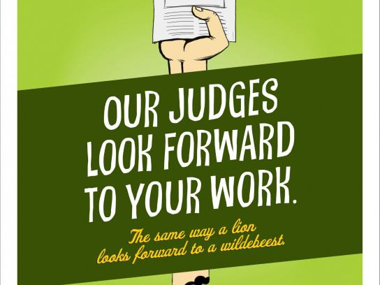 CNTAE Outdoor Ad -  Judges