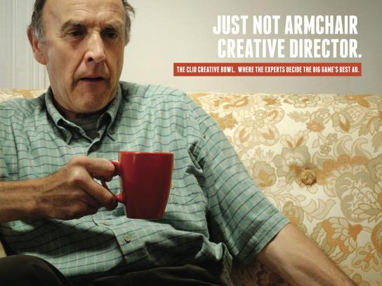 CLIO Awards Print Ad -  Armchair Quarterback