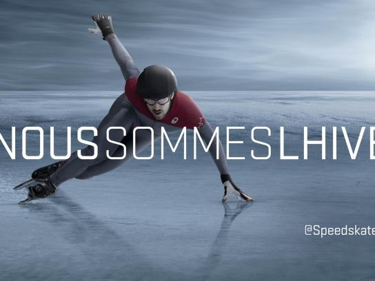 Canadian Olympic Committee Outdoor Ad -  Charles