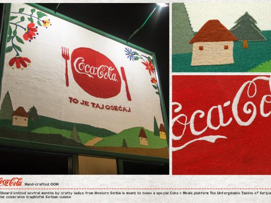 Coca-Cola Outdoor Ad - Coca-Cola Hand-Crafted Billboards