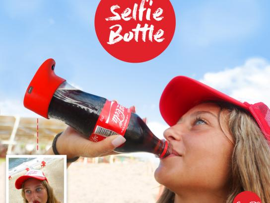 Coca-Cola Direct Ad - Selfie bottle