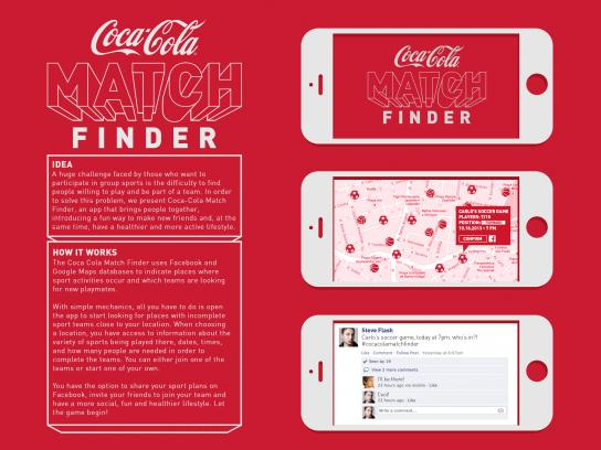 Coca-Cola Digital Ad -  Match finder